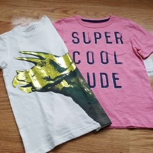 Carter's, T Shirts, Boys, Size 6, Lot of 2